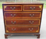 Inlaid Mahogany Chest of Drawers